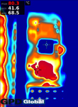 thermal imaging heat patterns photo