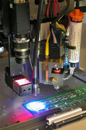 integration of UV Curing Materials Adhesive Dispensing Pumps
