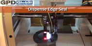 edge seal dispensed on wafer image